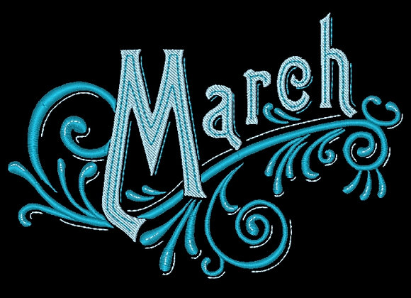Months of the Year - March