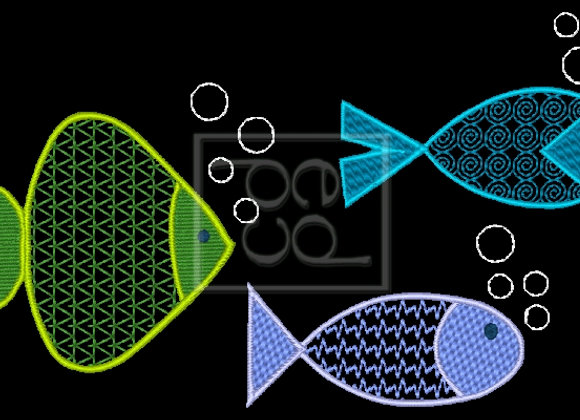 3 B Fishies Design