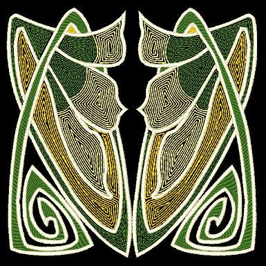 Art Nouveau Tile Design 3