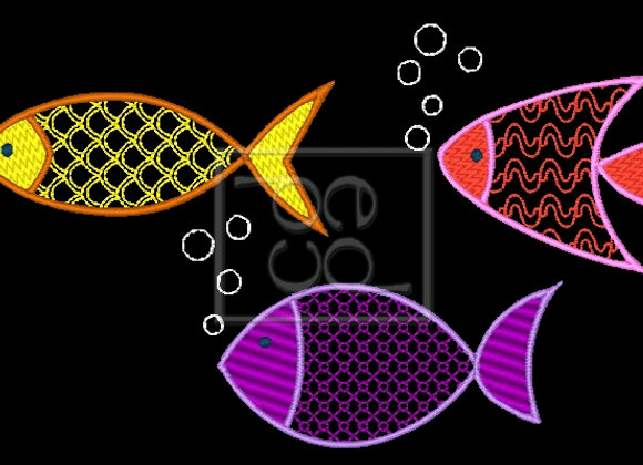3 A Fishies Design