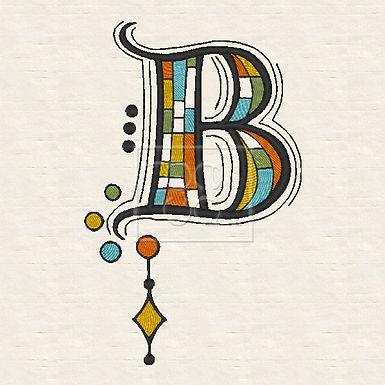 Zen Alpha Letter B