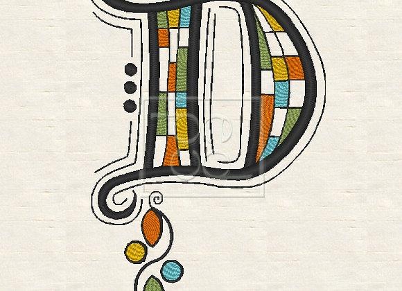 Zen Alpha Letter D