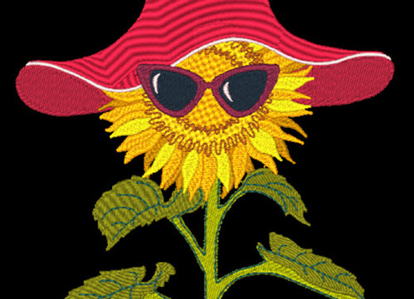 Sunflower with Glasses 3