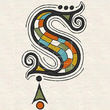 Zen Alpha Letter S