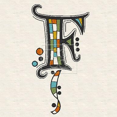 Zen Alpha Letter F