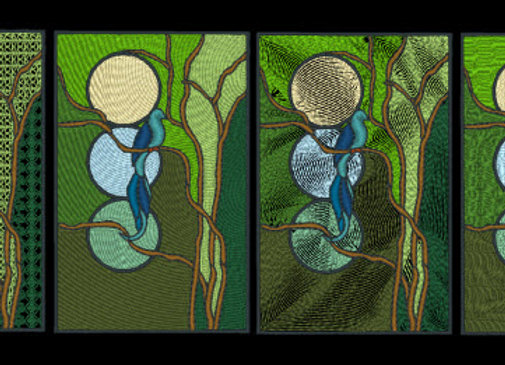 Stained Glass - Moonsong Designs