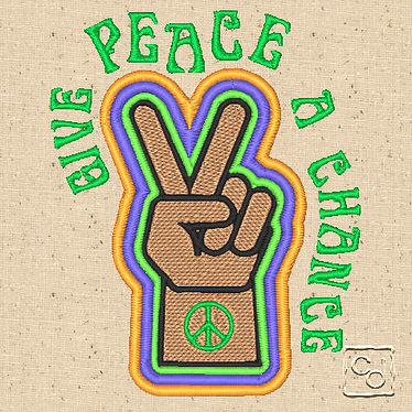 Free Peace Sign Design 4