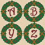 Xmas Wreath Alpha Design Image