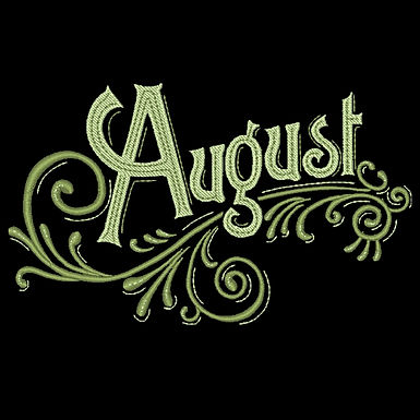 Months of the Year - August