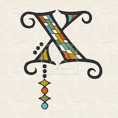 Zen Alpha Letter X