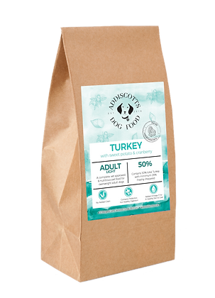 Light Turkey and Cranberry blended with Sweet Potato