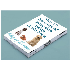 Grain free booklet sign up