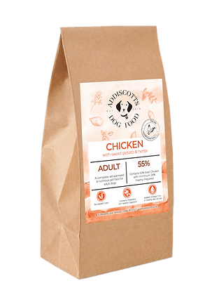 Chicken and Herbs blended with Sweet Potato