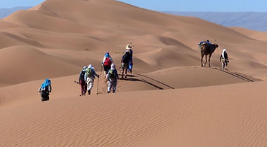 Désert trésors mythiques du Sahara trek au Maroc avec Amouddou trekking