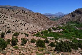 Vallée trek au Maroc avec Amouddou trekking