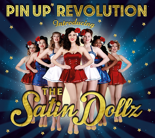 """Pin Up Revolution Introducing The Satin Dollz"" CD"