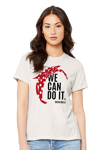 """We Can Do It"" Rosie Tee"