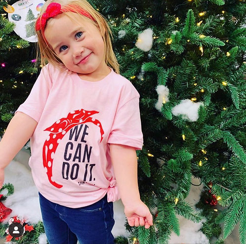 """We Can Do It"" Rosie Tee - Child"