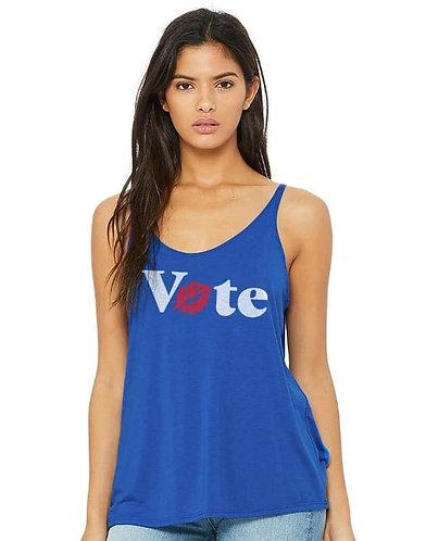 """""""Vote"""" Slouchy Tank - Women's"""
