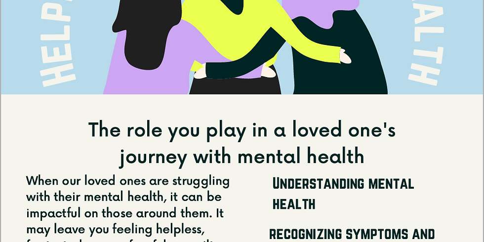 Helping Someone With Their Mental Health