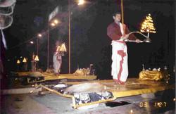 Varanasi. Ganges Evening prayers