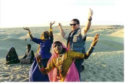 Jaisalmer Dune Dance Party.