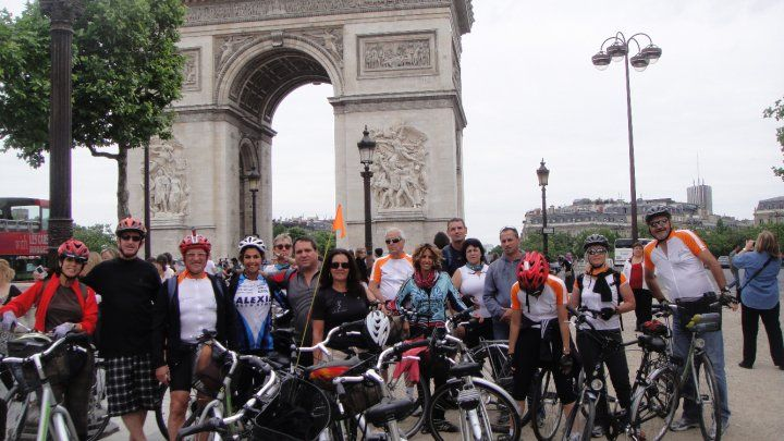 CYCLING PARIS WITH GIDI BERSHADSKY