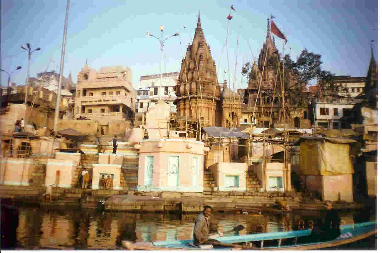 Varanasi. Ganges Temples.