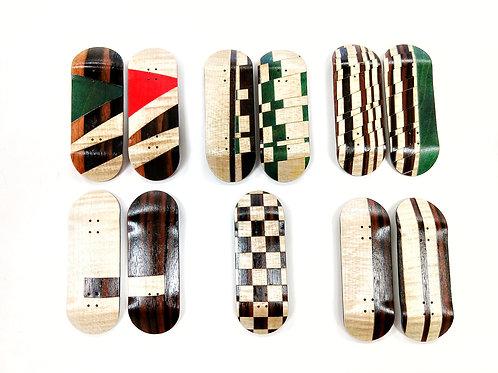 Rosewood/Maple Split Redemption Fingerboard Deck