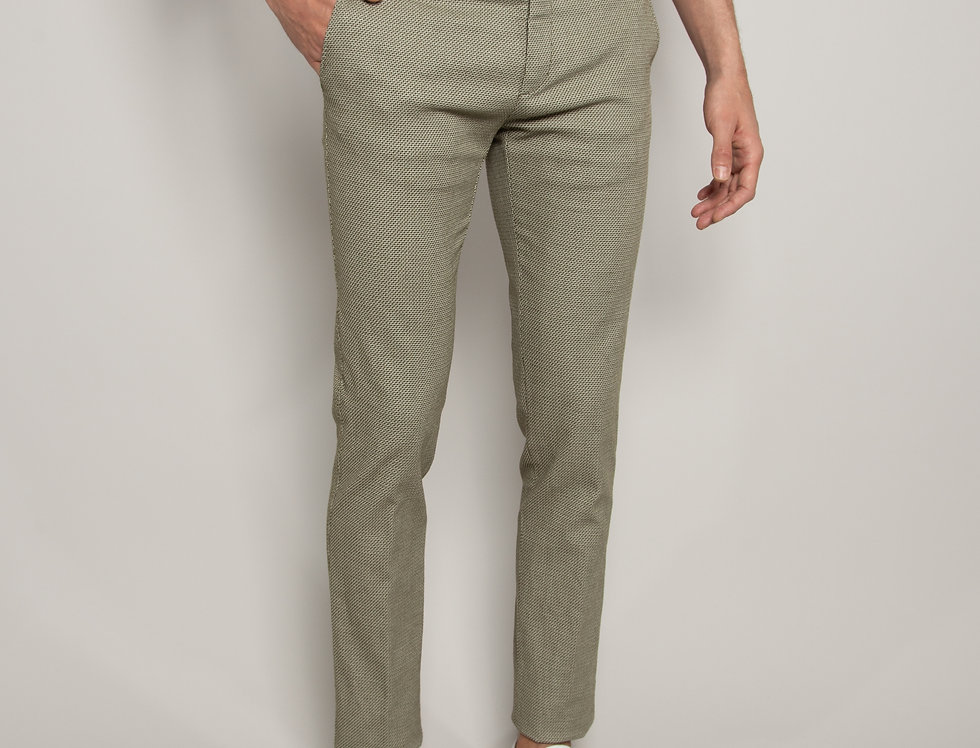 Pantalone Chino struttura Verde