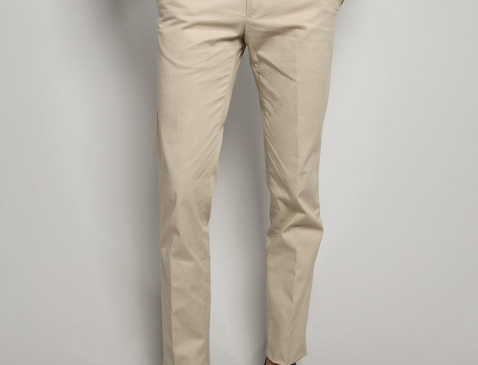 Pantalone Chino Cotone Sabbia