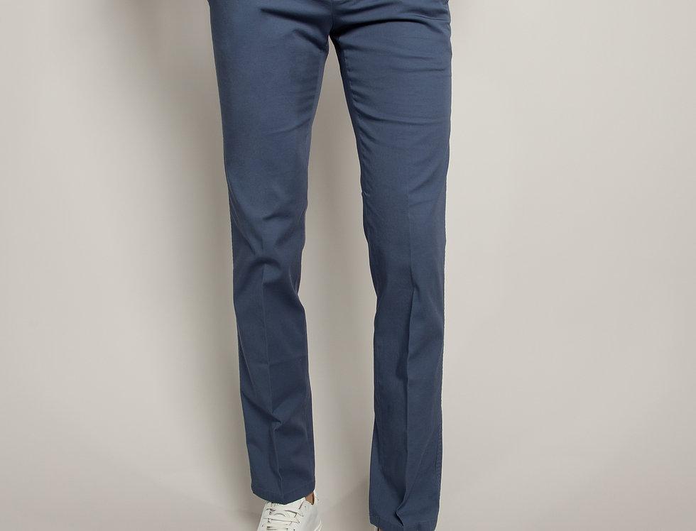 Pantalone Chino Cotone Avio