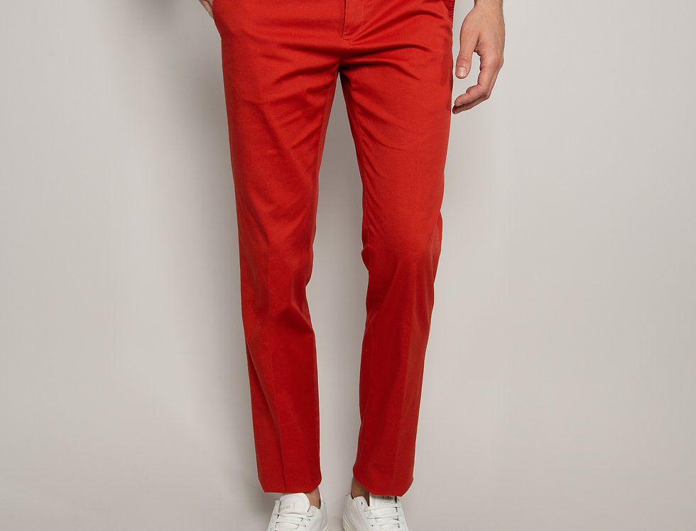 Pantalone Chino Cotone Aragosta