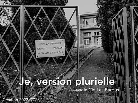 CIE LES BARBUS_je, version plurielle -1.