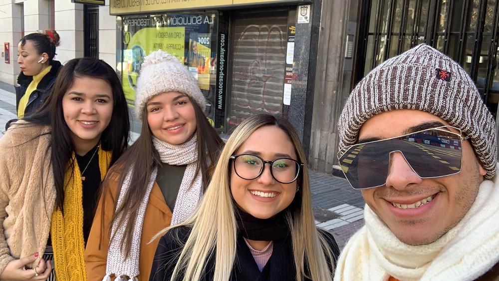 Grace, Lidmary y Alex; los mejores compañeros de viaje