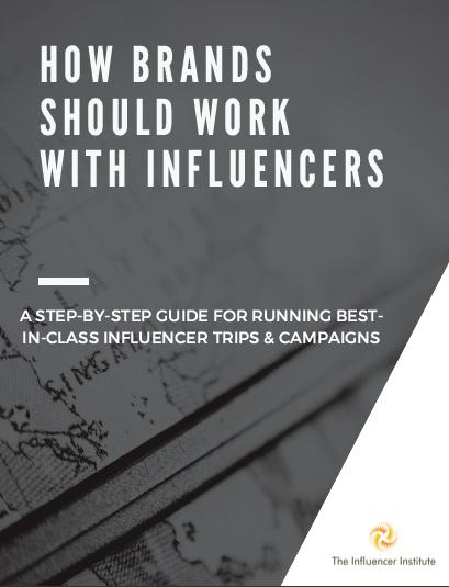 Influencer marketing brand guide
