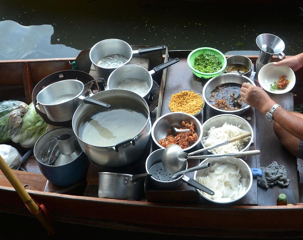cuisine sur bateau