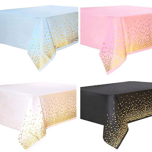Disposable Tablecloth Adult Happy Birthday Decor Kids Wedding Birthday Gift