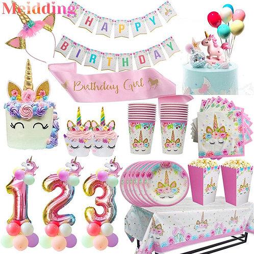 Unicorn Birthday Party Decors
