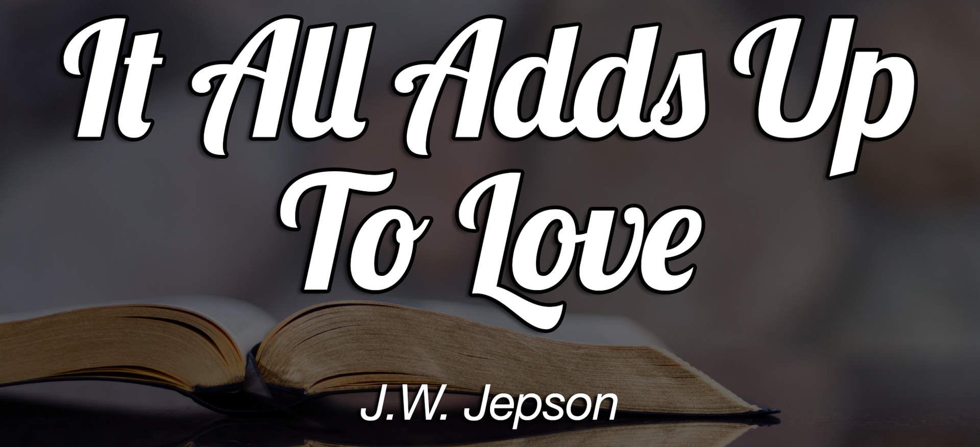 It All Adds Up To Love - Audiobook/eBook