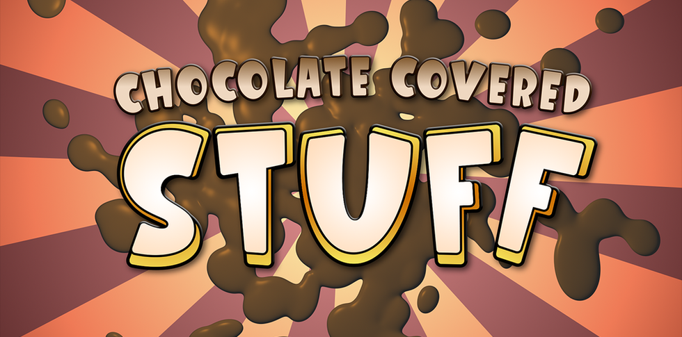 Chocolate Covered Stuff - Analog Pixels 6