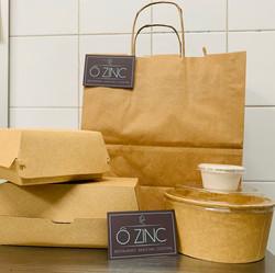 emballage à emporter recyclé et recyclable