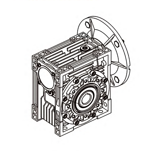 Worm gearbox HMRV025