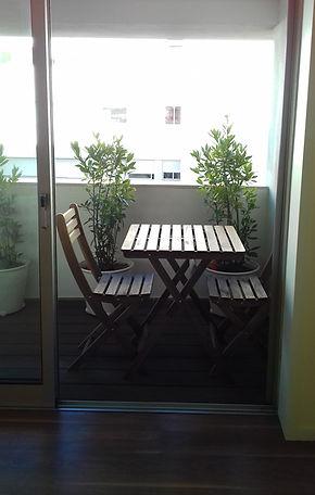 jardim da varanda Guimarães - depois