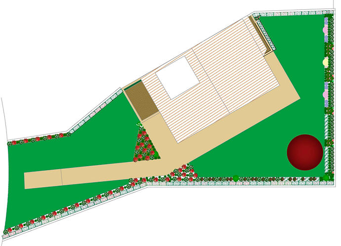 jag arquitetura paisagista - jardim privado - moradia Moledo