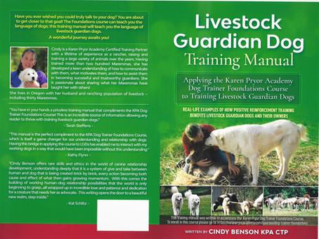 Online Dog Training Course & LGD Training Manual