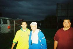 Coach Reis with Zagalo