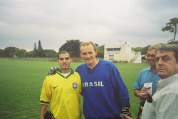 Coach Reis with Taffarel