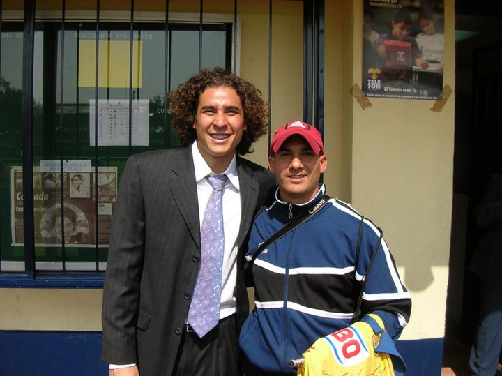 Coach Reis with Ochoa