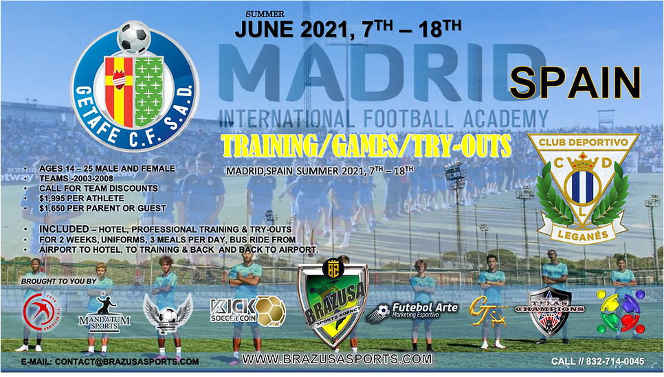 MADRID TRY-OUTS